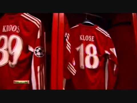 FC Bayern München Kabine