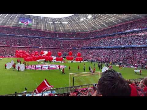 Ehrenrunde Philipp Lahm Allianz Arena 20.Mai 2017