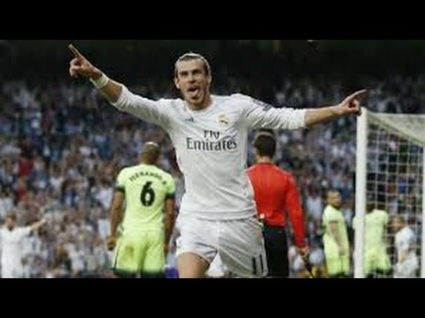 Gareth Bale Goal Real Madrid vs Manchester City 1-0 (2016)