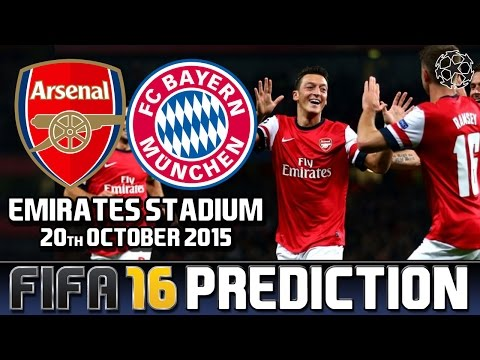 Arsenal vs. Bayern Munich – Match Prediction | FIFA Predicts! (2015)