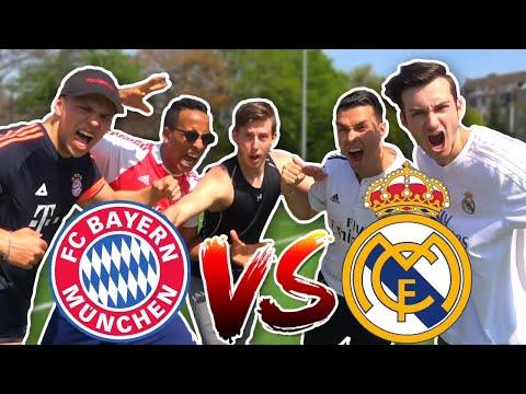 FC BAYERN (LEWANDOWSKI) vs REAL MADRID (RONALDO) CHALLENGE | BROTATOS