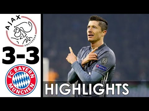 Ajax vs Bayern Munich 3-3 All Goals and Highlights w/ English Commentary (UCL) 2018-19 HD 720p
