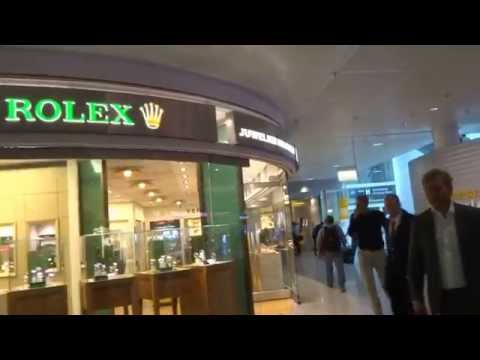 Aruna & Hari Sharma shopping at Duty free Shops Munich Airport Terminal 2, Sep 15, 2015