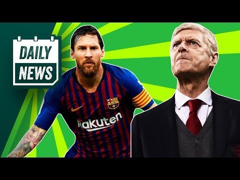 Barcelona SMASH records, Wenger to manage Bayern Munich + Spurs for title? ► Onefootball Daily News