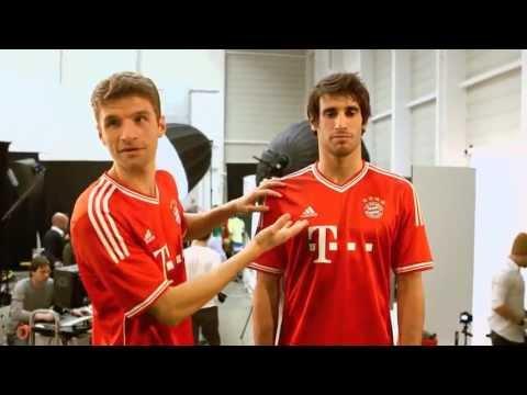 FC Bayern München Home Shirt 2013-2014