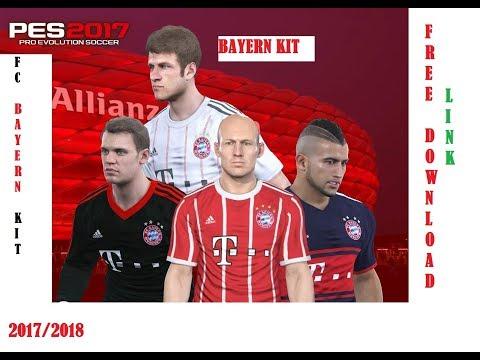 PES 2017 FC Bayern Kit 2017/2018