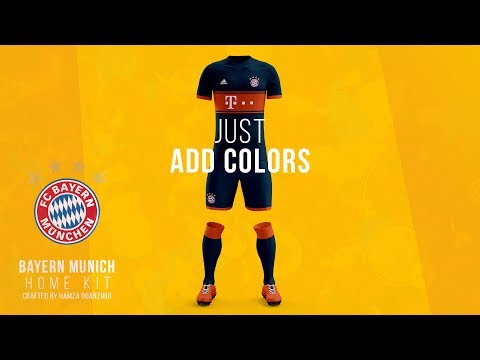 Bayern Munich 2017/18 Kit Design | Speed Art