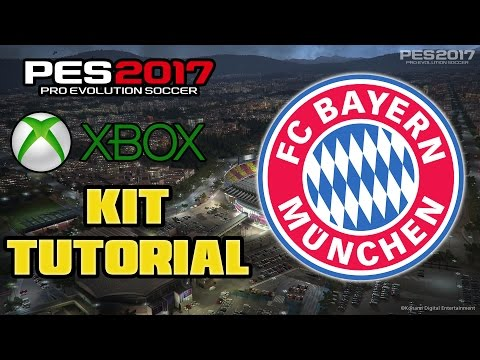 PES 2017 FC BAYERN MUNCHEN / MUNICH KIT TUTORIAL (XBOX)