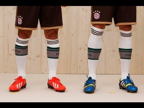 adidas – Auswärtstrikot (away jersey) 2013/14: FC Bayern zieht die Lederhosen an