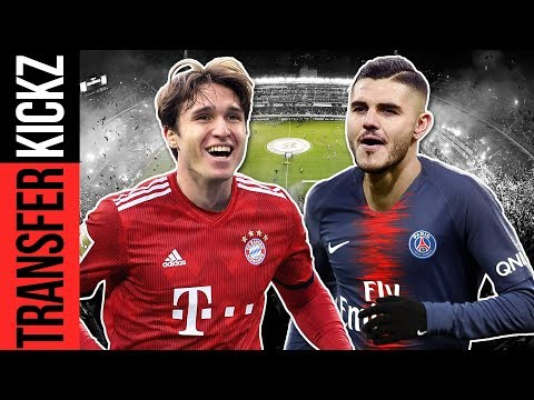 70-Mio-Italiener für Bayern? Icardi zu PSG? | TransferKickz