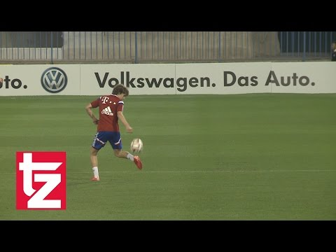 Gianluca Gaudino shows his skills – FC Bayern Munich