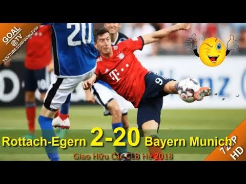 Rottach Egern vs Bayern Munich 2-20 Highlights 2018