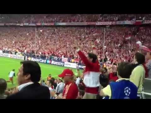 fc bayern after goal fan voice