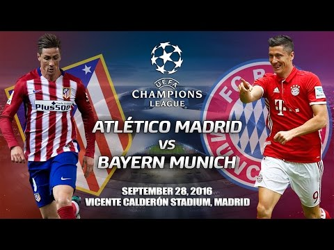 FIFA Predictions: Atlético Madrid vs. Bayern Munich | UEFA Champions League | 28/09/2016