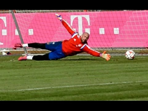 "Pepe Reina – ""Get up and Dive"" Goalkeeper Training – Torwart Training 