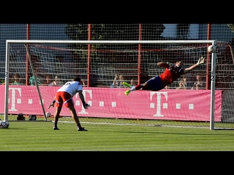 FC Bayern Munich goalkeeper training – Part 7
