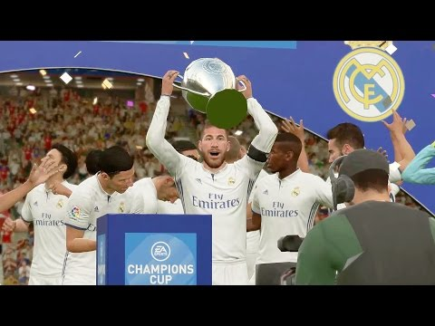 FIFA 17 UEFA Champions League Final † Bayern München vs Real Madrid Gameplay