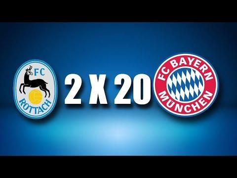 FC Rottach egern 2 x 20 Bayer münchen melhores momentos e gols