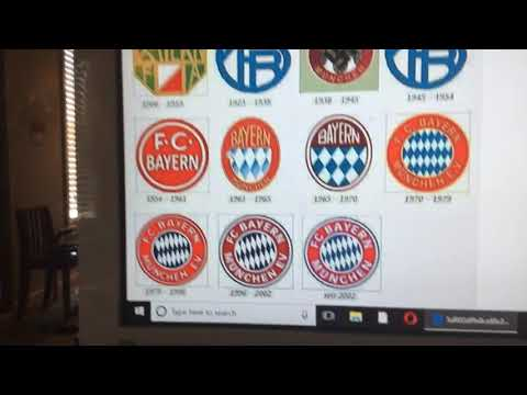 FC Bayern Logo History #12