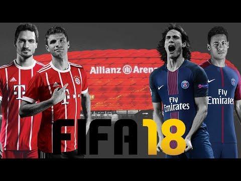 WAS IST NEU?! 🤔 UNTERSCHIEDE zu FIFA 17 ⚽ FIFA 18 Gameplay FC Bayern München