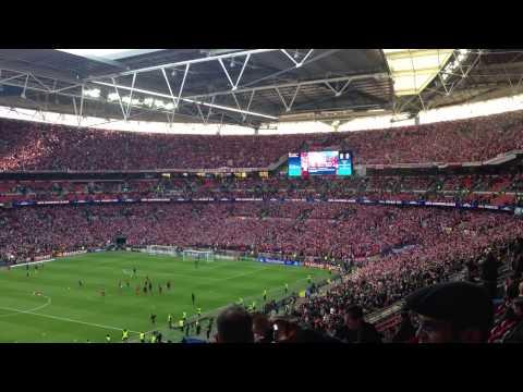 Wembley Champions League Finale FC Bayern Stern des Südens