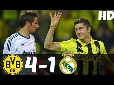 When LEWANDOWSKI scored 4 goals vs REAL MADRID…