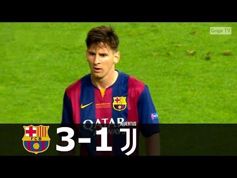 Barcelona vs Juventus 3-1 – UCL Final 2015 – Full Highlights HD