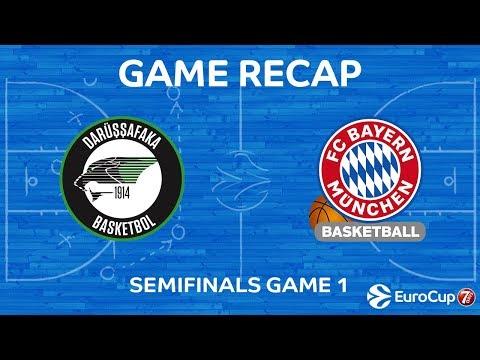 Highlights: Darussafaka Istanbul – FC Bayern Munich