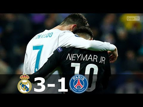 Real Madrid vs Paris Saint Germain 3-1 – UCL 2017/2018 – Highlights