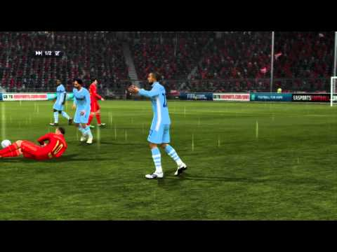 FIFA 12 – Online match 10 – FC Bayern München VS Manchester City – PS3