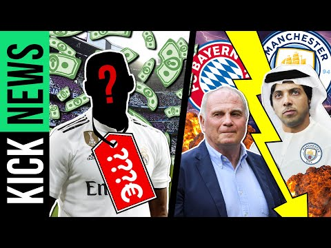 Wird das der teuerste Spieler der Welt? ManCity droht Bayern! | KickNews