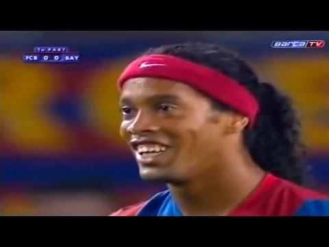 Ronaldinho vs Bayern Munich 2006/07 – Joan Gamper Trophy 2006 – by PedroPaulo10i