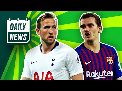 Griezmann confirms Atletico EXIT, Kane fit for UCL Final + Sane to Bayern? ► Onefootball Daily News