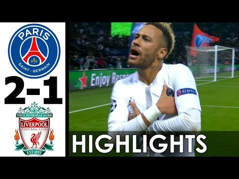 PSG vs Liverpool 2-1 All Goals and EXT Highlights w/ English Commentary (UCL) 2018-19 HD 720p