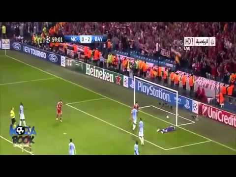 Manchester City vs Bayern Munich 1-3 02.10.2013 Champions League Group D