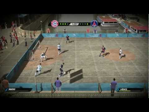FIFA Street Gameplay – FC Bayern vs PSG