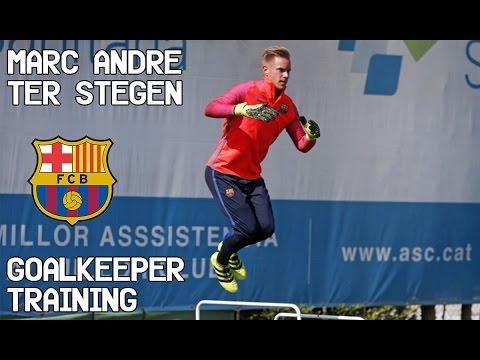 Marc-André Ter stegen / Goalkeeper Training / FC Barcelona !