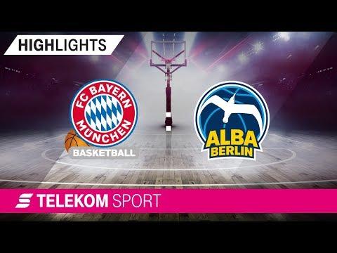 FC Bayern Basketball – ALBA Berlin | BBL Pokal | Viertelfinale, 18/19| Telekom Sport