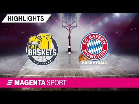 EWE Baskets Oldenburg – FC Bayern Basketball | 21. Spieltag, 18/19 | MAGENT SPORT