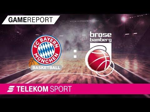 FC Bayern München – Brose Bamberg | Halbfinale, Spiel 1, 17/18 | Telekom Sport