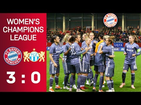 FC Bayern vs. FC Zürich 3-0 | UEFA Women's Champions League 2018/19 – Round of 16 | ReLive