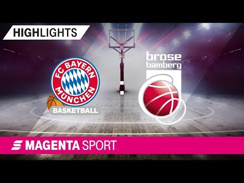FC Bayern Basketball – Brose Bamberg | 31. Spieltag, 18/19 | MAGENTA SPORT