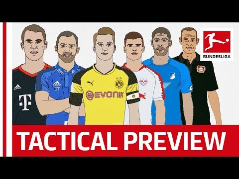 Bundesliga Preview With Bayern, Dortmund & Co – Top 6 Teams Analysed by Tifo Football