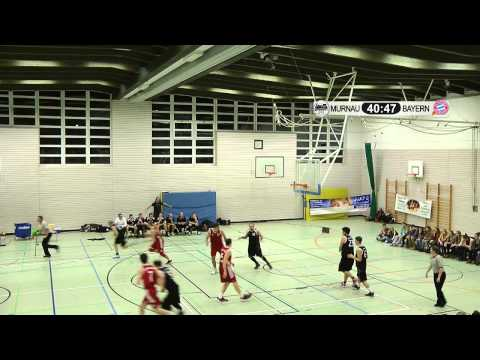 Basketball: ESV Staffelsee – FC Bayern München (komplettes Spiel)