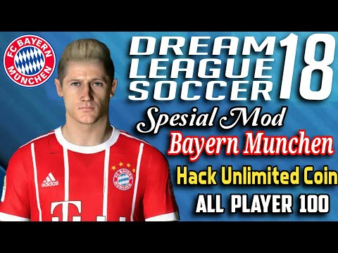 Download Dream league soccer 2018 mod Bayern Munchen Hack Unlimited money all player 100