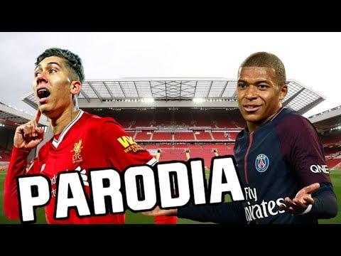 Canción Liverpool vs Psg 3-2 (Parodia No Me Acuerdo – Thalía, Natti Natasha)