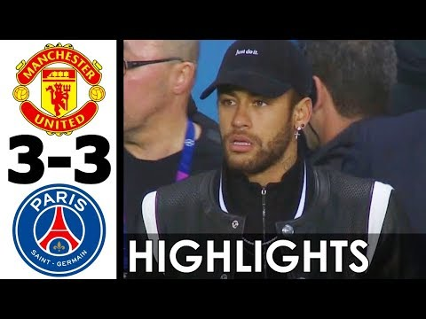 Manchester United vs PSG 3-3 All Goals and Highlights w/ English Commentary (UCL) 2018-19 HD 720p