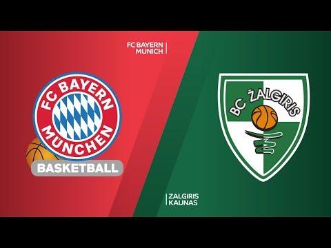 FC Bayern Munich – Zalgiris Kaunas Highlights | Turkish Airlines EuroLeague RS Round 12