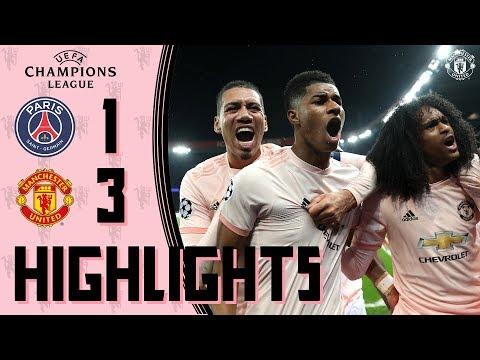 Highlights | Solskjaer's young stars stun PSG! | PSG 1-3 Manchester United | UEFA Champions League