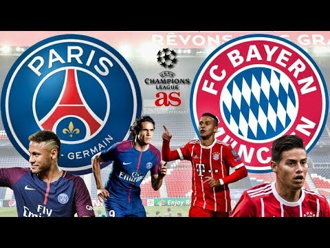 BAYERN MUNICH vs PSG LIVE STREAM HD – CHAMPIONS LEAGUE 2017 LIVE